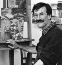 Artist & Author David Curtis, ROI RSMA