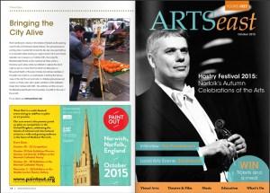 ARTS east October 2015