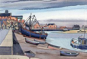 Nicholas Barnham Artist Wells Harbour Norfolk