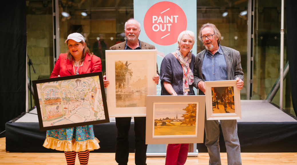 Paint Out Norwich 2015 Prizewinning Artists and Paintings ©Matt Dartford
