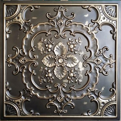 Medium Of Faux Tin Ceiling Tiles