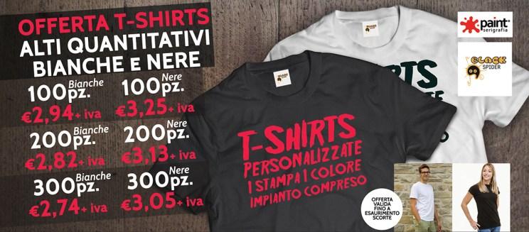 Offerta stampa t-shirt