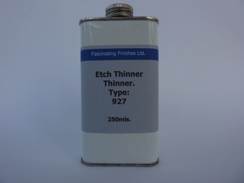 250mls Thinners For Etch Primer 927 Paint Thinner Cleaner