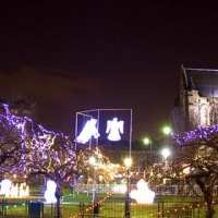 Paisley Christmas lights switch-on is rearranged
