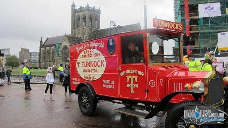 Santa Parade 2012
