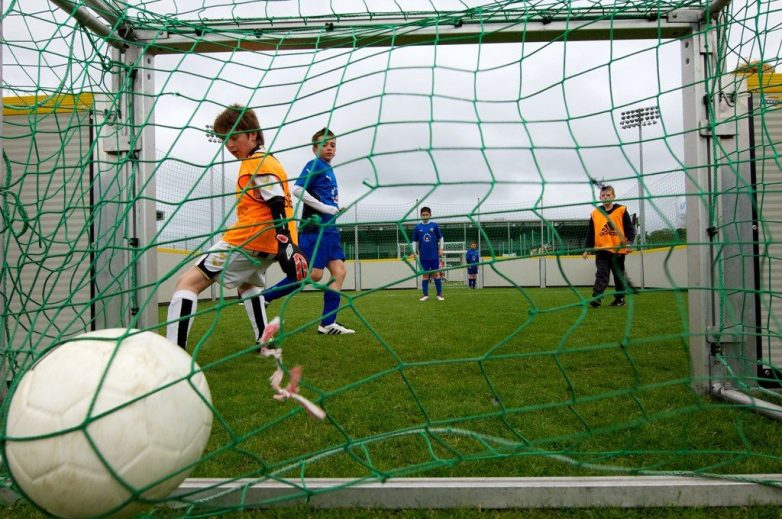 Image from previous Street Stuff football event