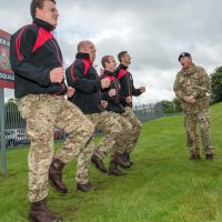 Sergeant gives his men the runaround before big race