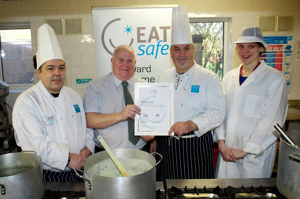Paisley care home wins food safety award
