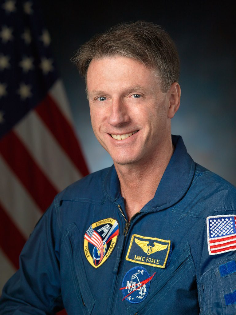 An evening with Astronaut Michael Foale CBE
