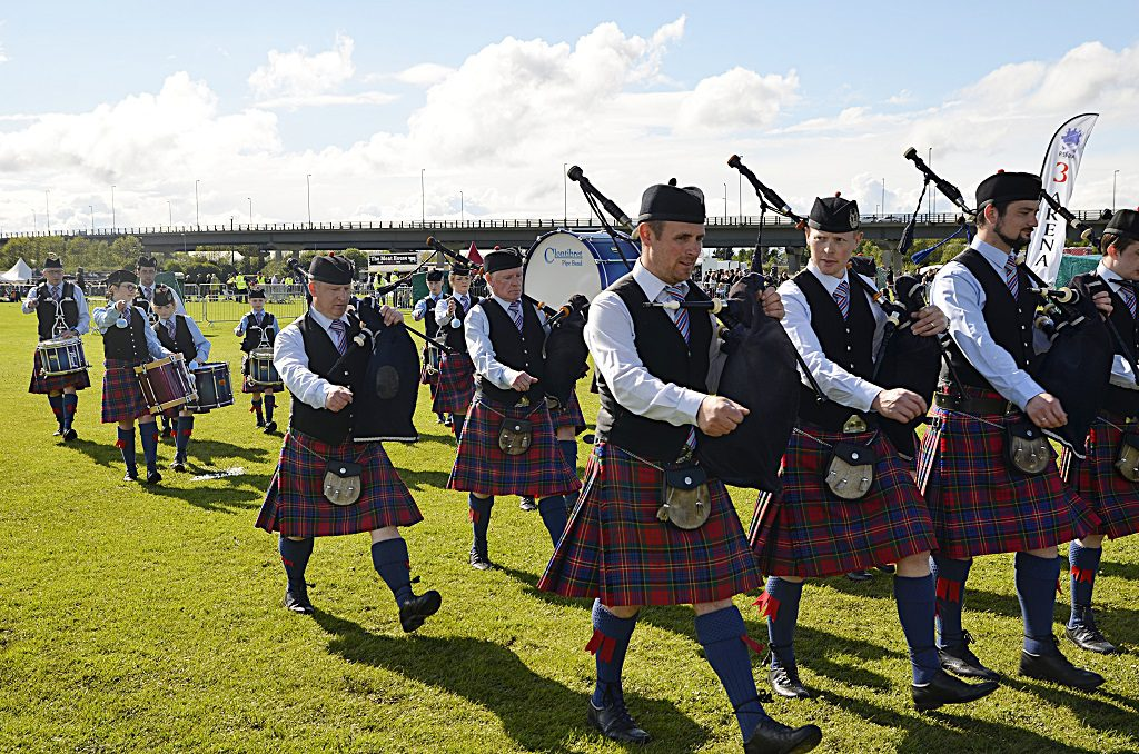 British Pipe Band Championships Paisley 21st May 2016 Photographs
