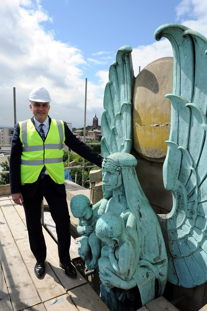 £5m building revamp declared 'spectacular' after tour