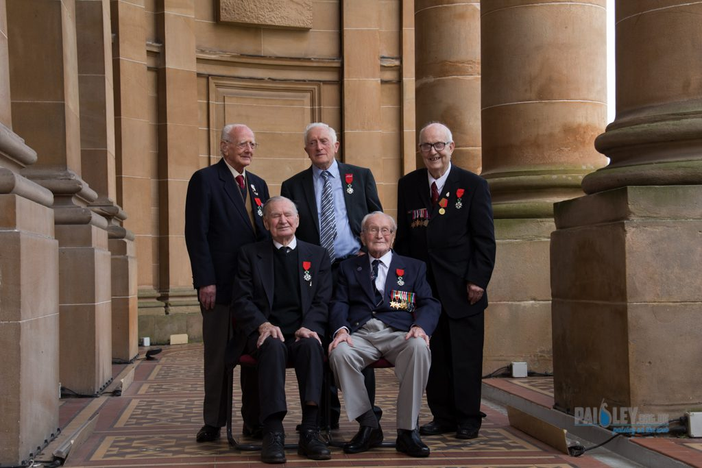 Scottish veterans receive highest French military honour Legion D'Honneur