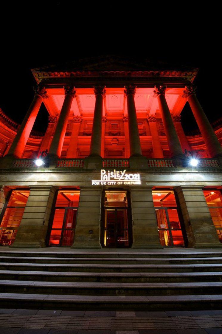 Paisley 2021 - Paisley Town Hall (2)