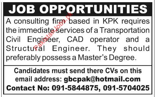 Civil Engineer, CAD Operator, Structural Engineer 2018 Others - structural engineer job description