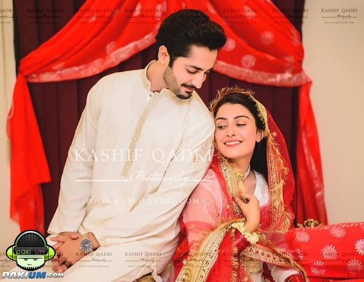 Mehwish Hayat Hd Wallpaper Ayeza Khan And Danish Taimoor Got Married Nikkah Pictures