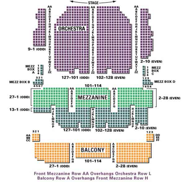 palace theater seating chart - Antaexpocoaching