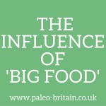 The influence of big food