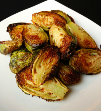 Paleo Crispy Brussels Sprouts