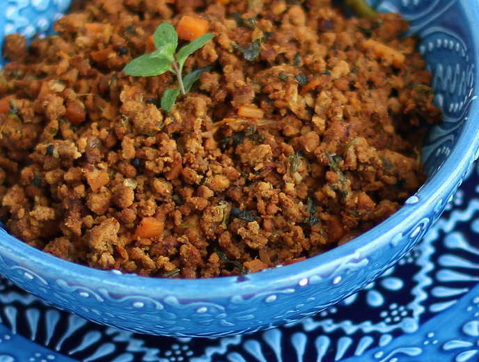Paleo South Asian-Style Ground Beef (Keema)