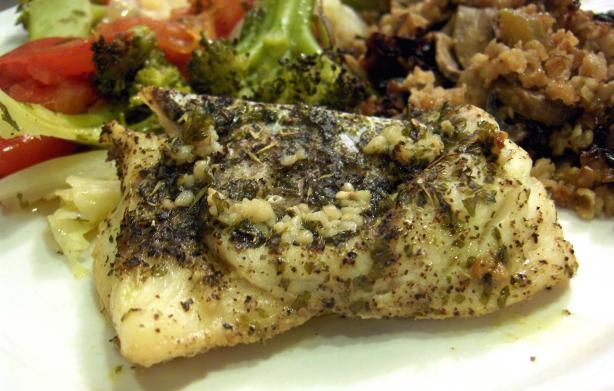 Paleo Lemon Pepper Dill Fish