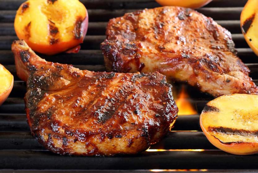 ... pork seasonings sauces paleo pork chops with cherry barbecue sauce