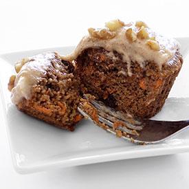 Carrot Cake Cupcakes w/Cinnamon-Vanilla Frosting Recipe