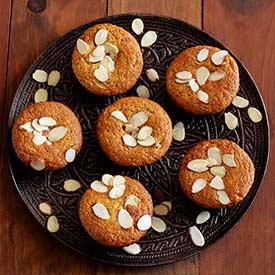 Paleo Almond Poppy Seed Muffins Recipe