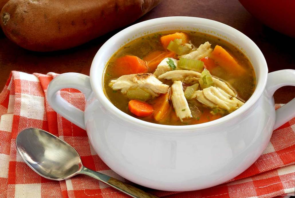 Paleo Turkey & Vegetable Soup Recipe | Paleo Newbie
