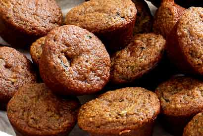 Paleo Zucchini Chocolate Chip Mini-Muffins Recipe