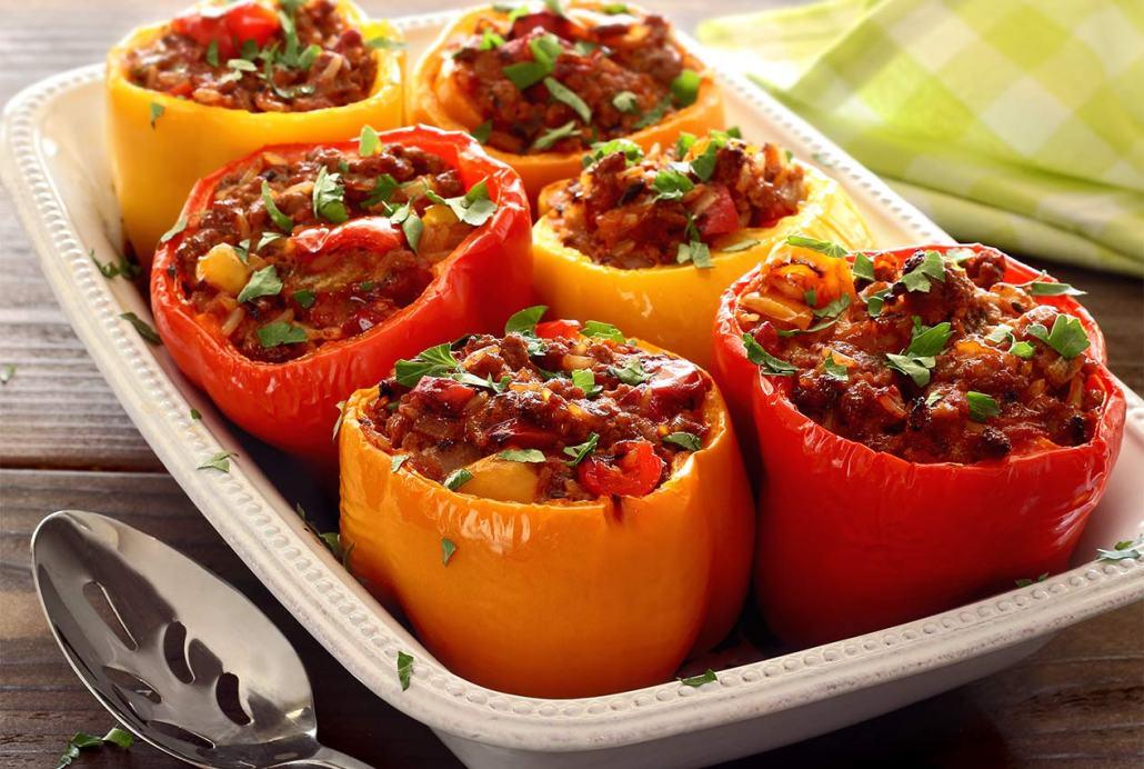 Updated Recipe: Stuffed Peppers | Paleo Newbie