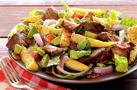 Hearty Paleo Steak & Potato Salad Recipe
