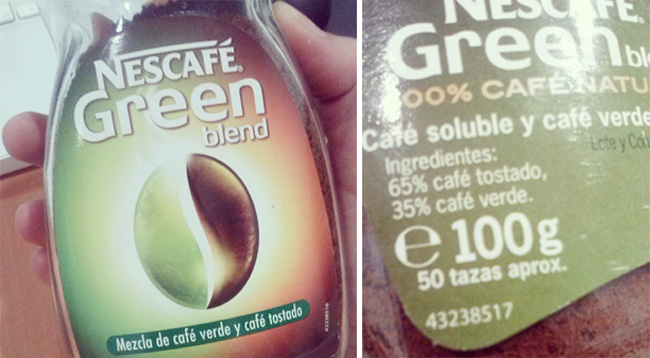 café Green Nescafe