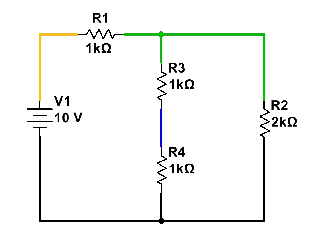simple diagram of a parallel circuit