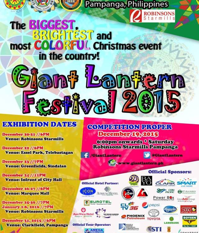 Giant Lantern Festival Exhibition Dates