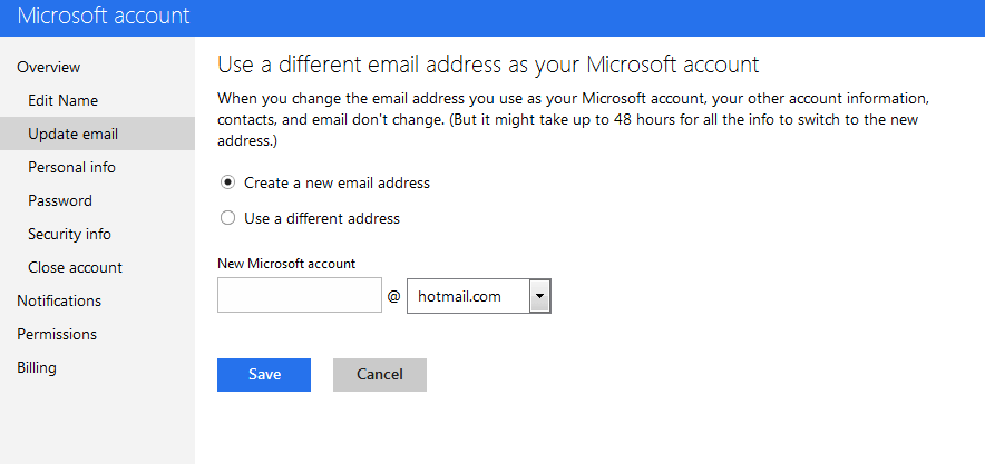 Create A New Email Address Hotmail Hotmail Sign Up Create A New Account How To Revert Outlook To Hotmail Account And Interface