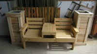 Double Seat Pallet Wood Chairs | Pallet Furniture Projects.