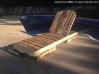 Pallet Sun Lounger Ideas | Pallet Furniture Projects.