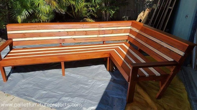 Upcycled Wooden Pallet Furniture Plans Pallet Furniture