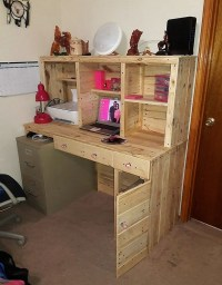 Pallet Ideas, DIY Pallet Wood Furniture Projects and Plans.
