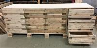 Repurposed Wood Pallets Kitchen Counter Table | Pallet Ideas