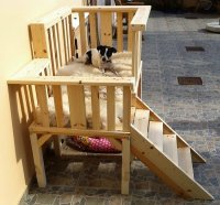 Repurposed Wood Pallets Dog Bed Plan | Pallet Ideas