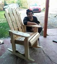 DIY Wood Pallets Rocking Chair Plan | Pallet Ideas