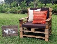 Recycled Wooden Pallet Patio Garden Sofa Set | Pallet Ideas
