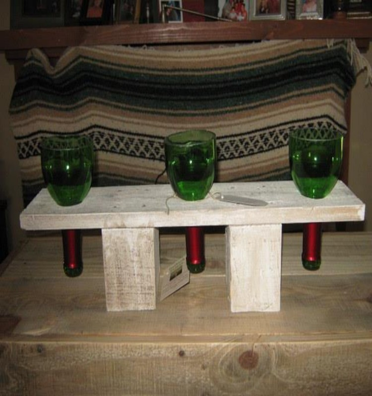 Using Pallets For Outdoor Furniture Pallets Candle Holders | Pallet Ideas: Recycled / Upcycled Pallets Furniture Projects.