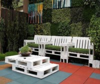 Outdoor Furniture out of Pallets Wood | Pallet Ideas ...