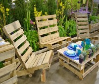 Outdoor Furniture out of Pallets Wood   Pallet Ideas ...