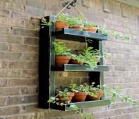 Pallets Made Wood Wall Planter Ideas | Pallet Ideas ...