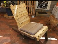 Pallets Table Recycled To Chair | Pallet Ideas: Recycled ...