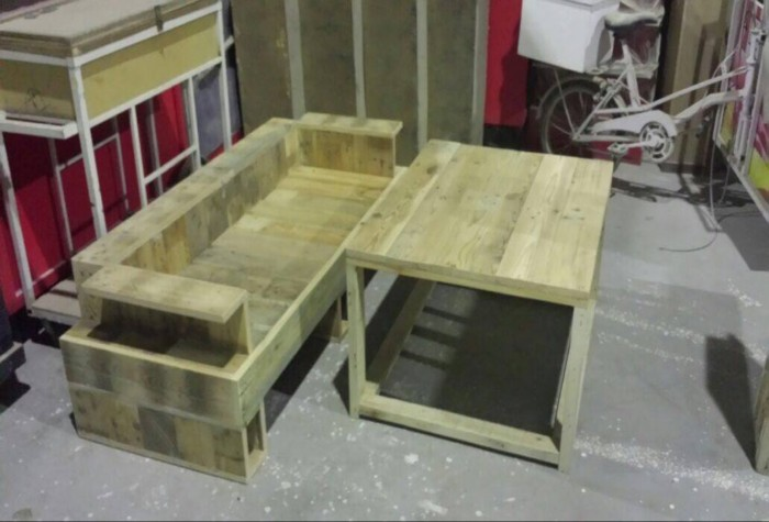 Pallets Creations At Showroom In Malaysia Pallet Ideas