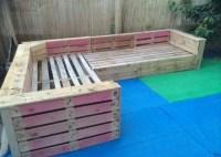 Pallets Ideas, Designs, DIY.  Patio Garden Corner Seating ...